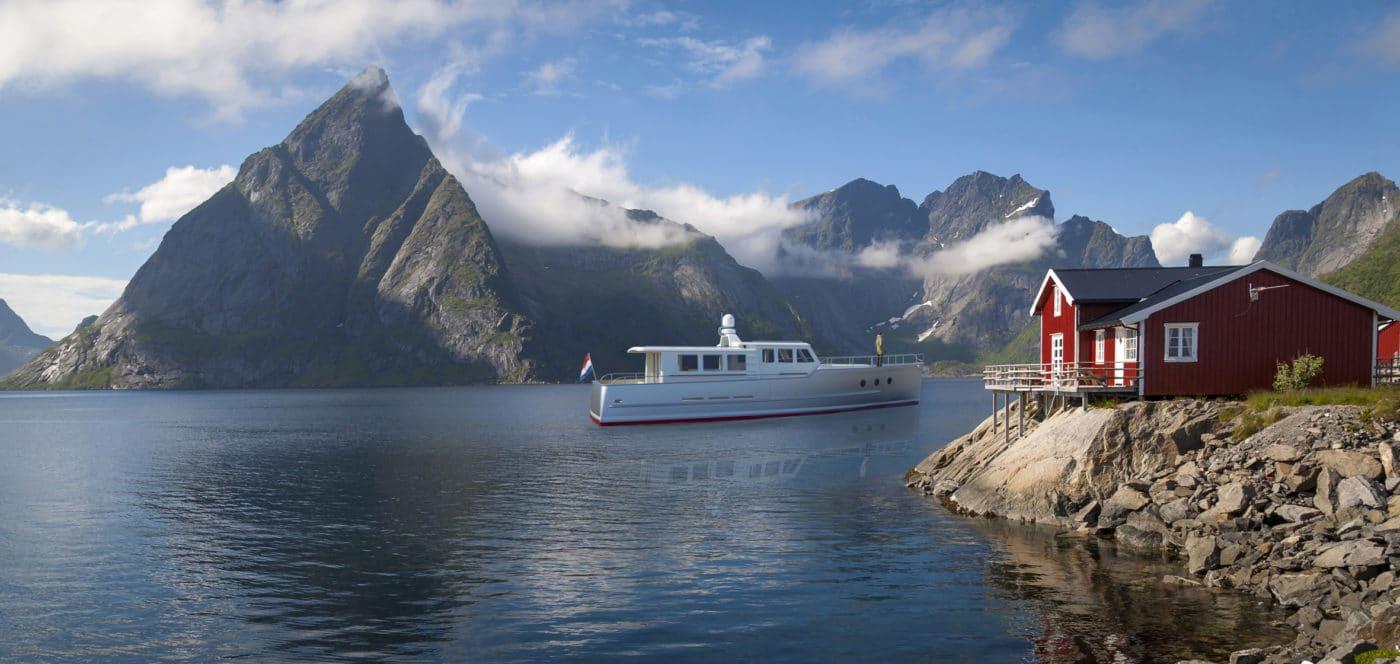 Bestevaer 53ft motorjacht: in ontwikkeling