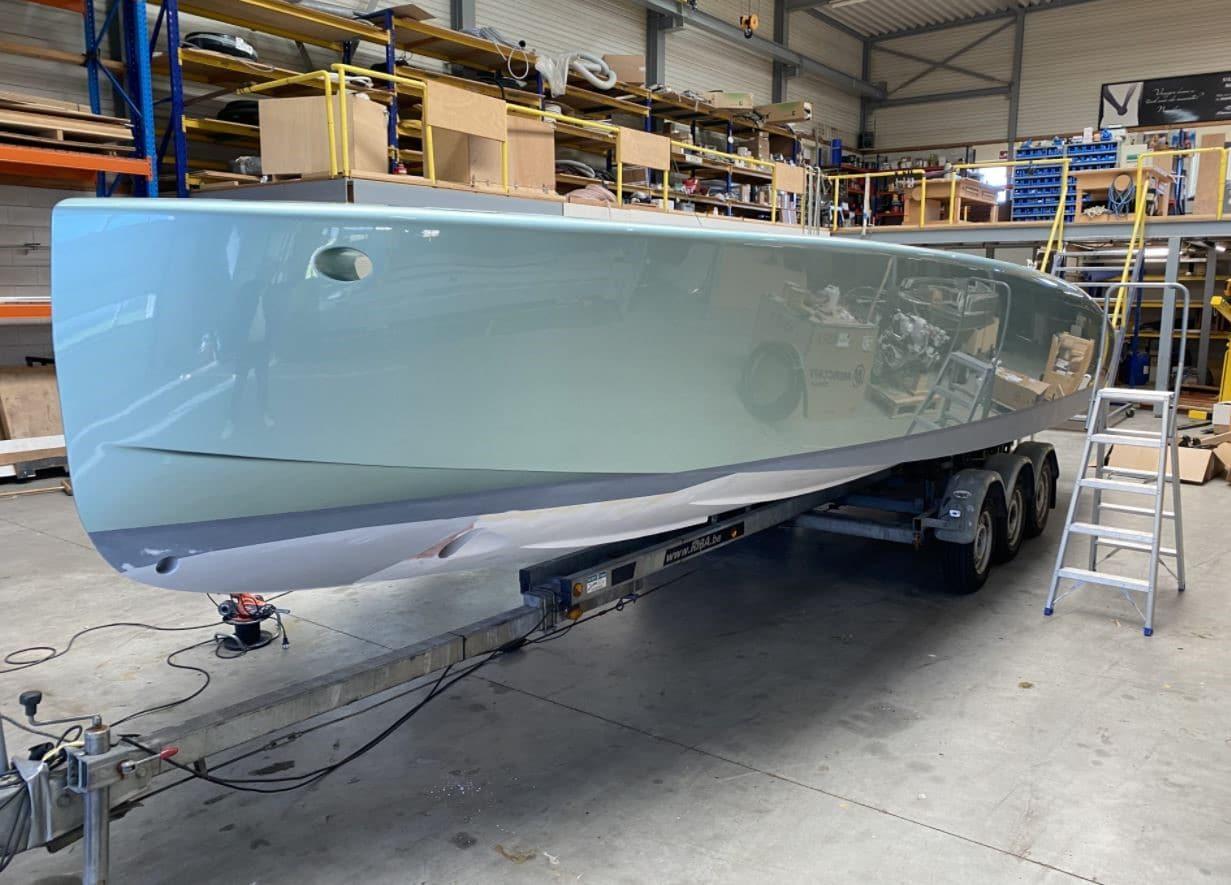 Under construction: Tender to megayacht