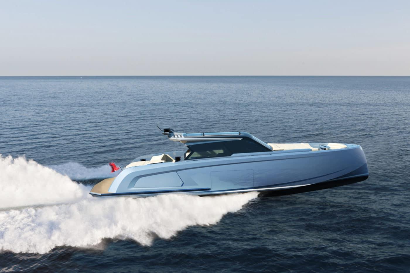 Vanquish Yachts 58ft: Under development